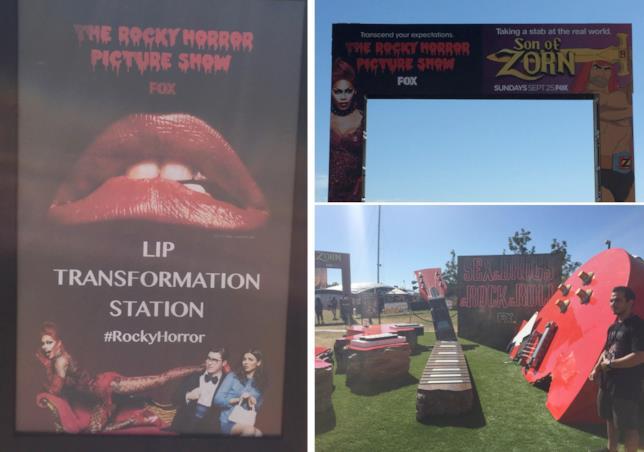 #SDCC16: l'installazione di The Rocky Horror Picture Show