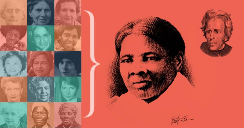 Harriet Tubman nella campagna Women on 20s