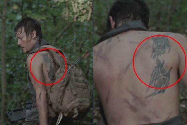 """Daryl e il suo tautaggio """"mobile"""""""