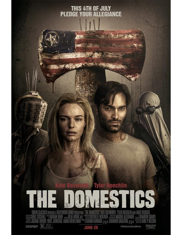 Il poster di The Domestics