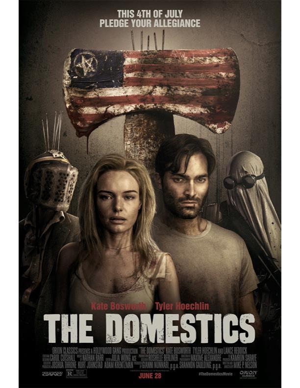 Il poster di The Domestics