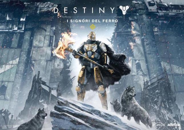 La copertina dell'ultima espansione di Destiny