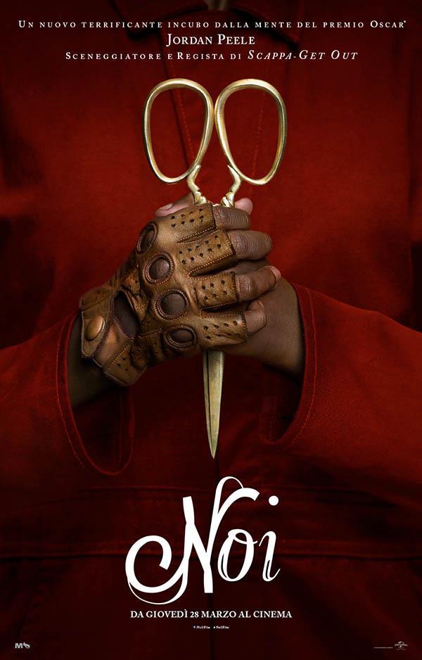 La locandina di Noi, il nuovo film di Jordan Peele