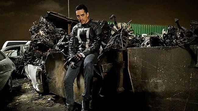 Gabriel Luna è Ghost Rider nella quarta stagione di Marvel's Agents of S.H.I.E.L.D.