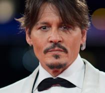 Un primo piano di Johnny Depp