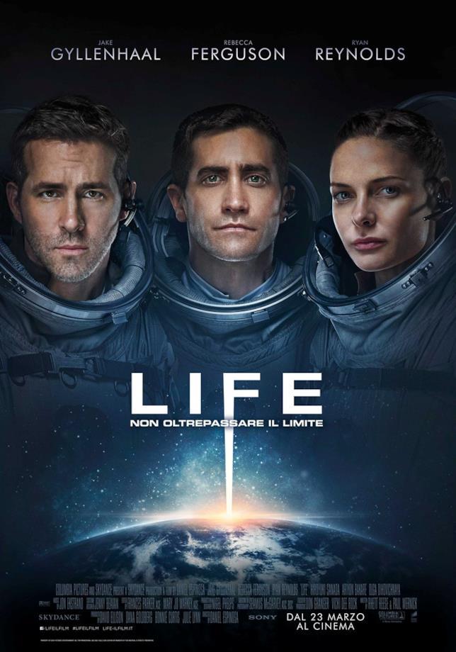 Il poster di Life