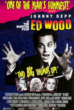 La locandina americana di Ed Wood