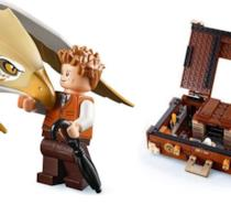 Newt Scamander e un Grifone in versione LEGO