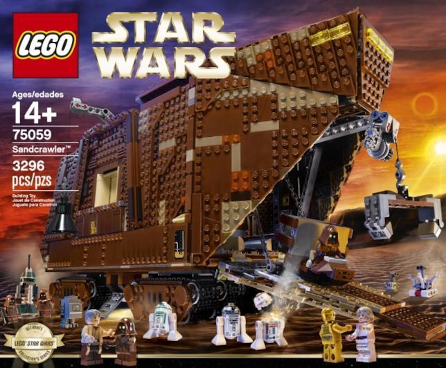 Set LEGO Sandcrawler