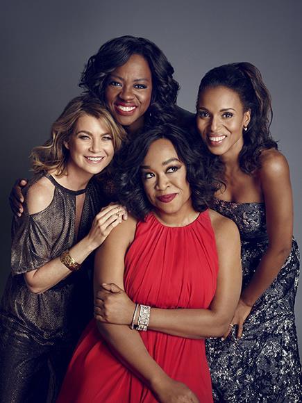 Shonda Rhimes e le attrici delle sue serie TV