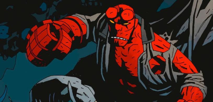 Hellboy di Mike Mignola in versione fumetto