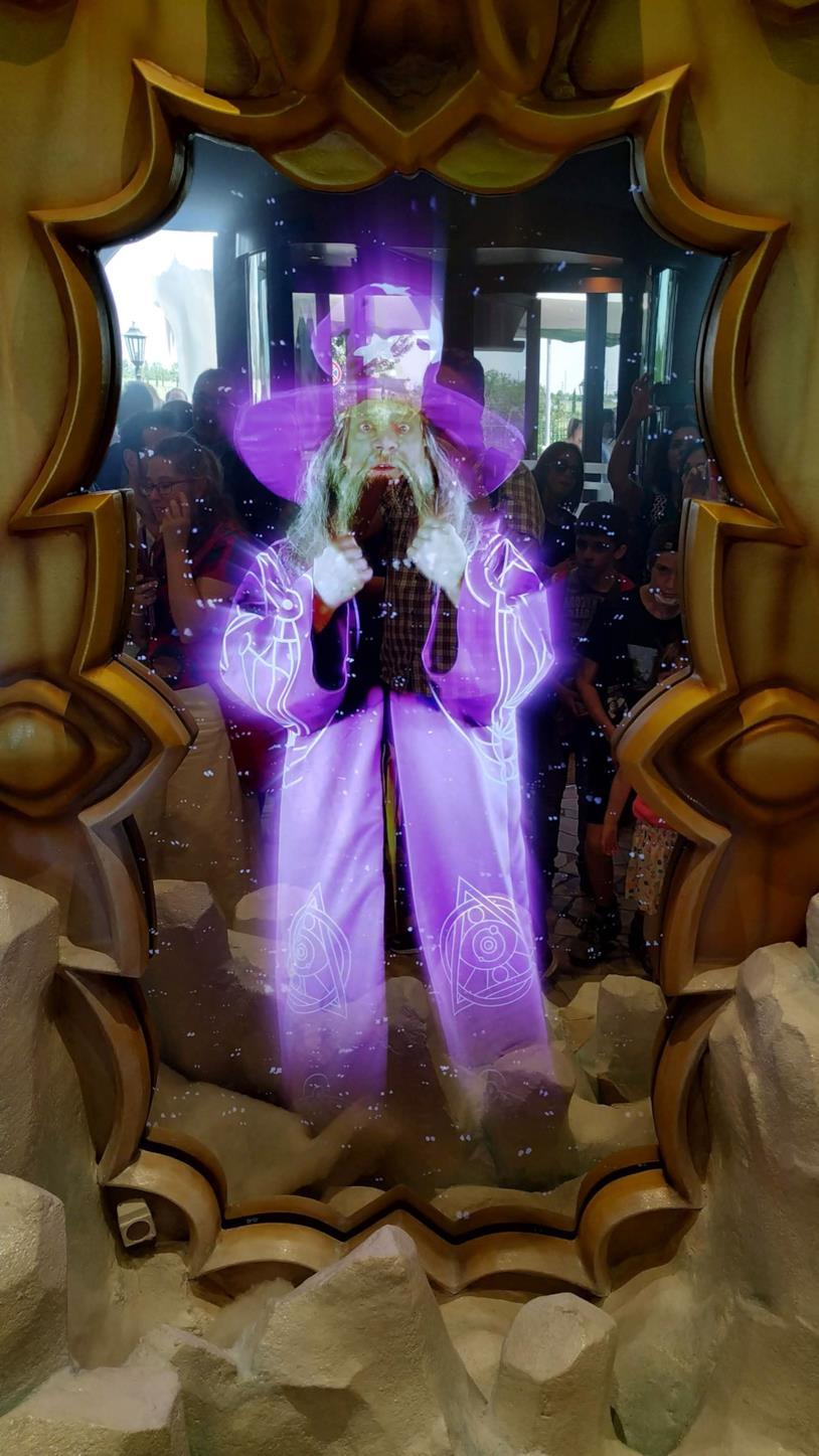 Lo specchio magico di Gardaland