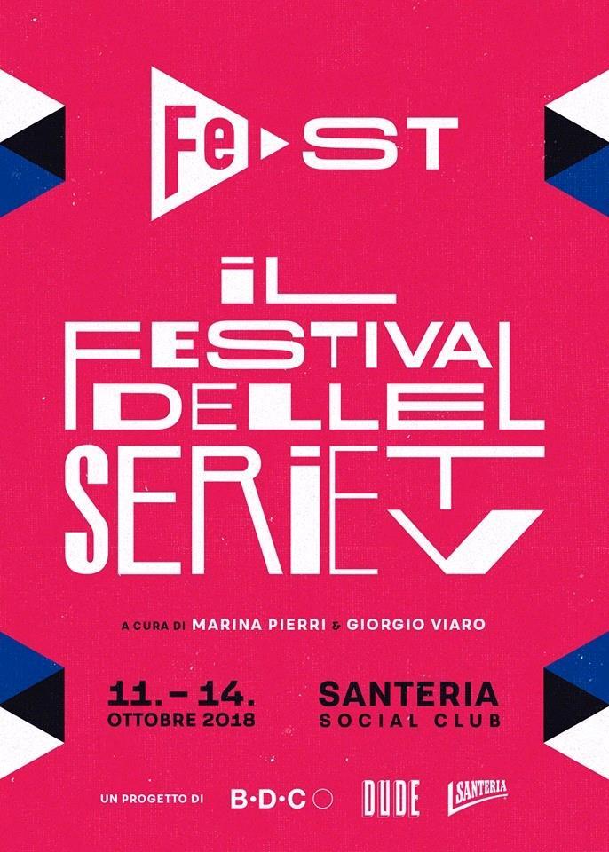 La locandina del festival milanese dedicato alle serie TV