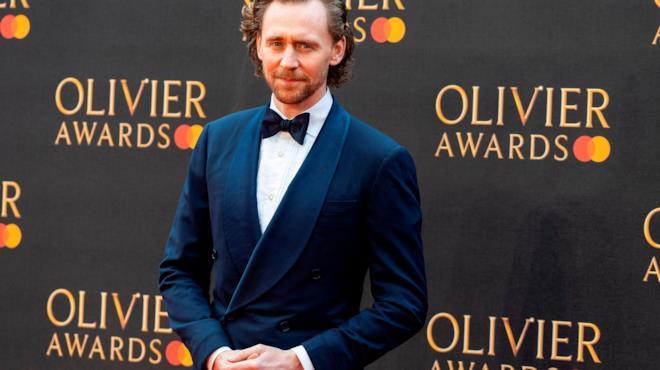 Tom Hiddleston sul carpet