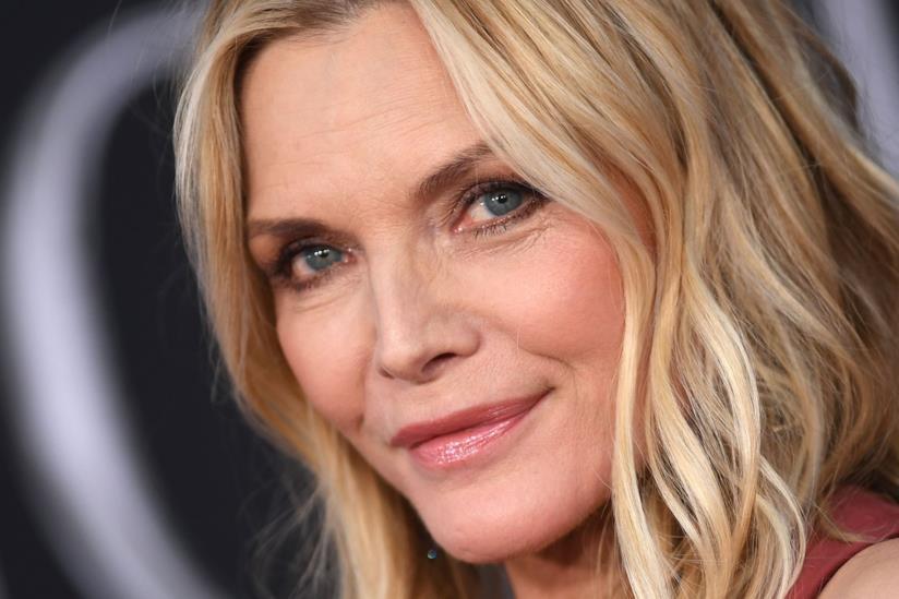 Un primo piano dell'attrice Michelle Pfeiffer