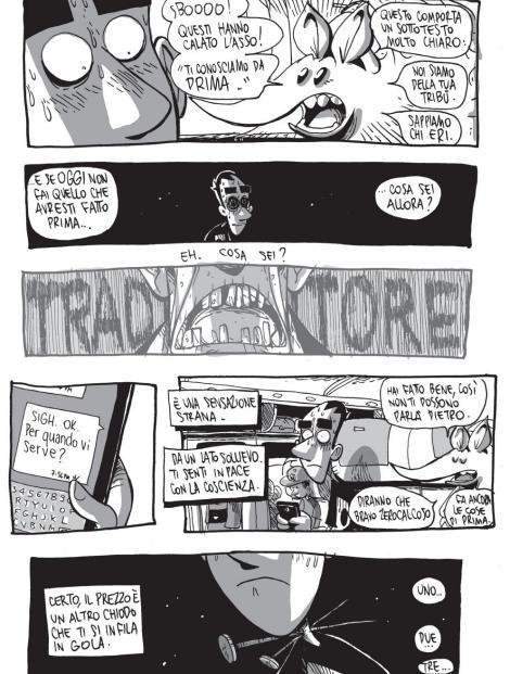 Le macerie prime della societ nel nuovo fumetto di for Calcare di piani casa texas