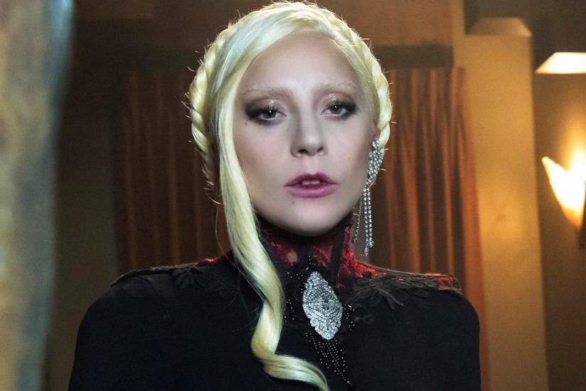 Lady Gaga sul set di American Horror Story