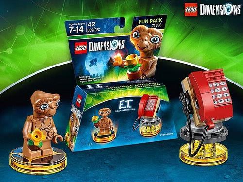 Il Fun Pack di E.T. di LEGO Dimensions