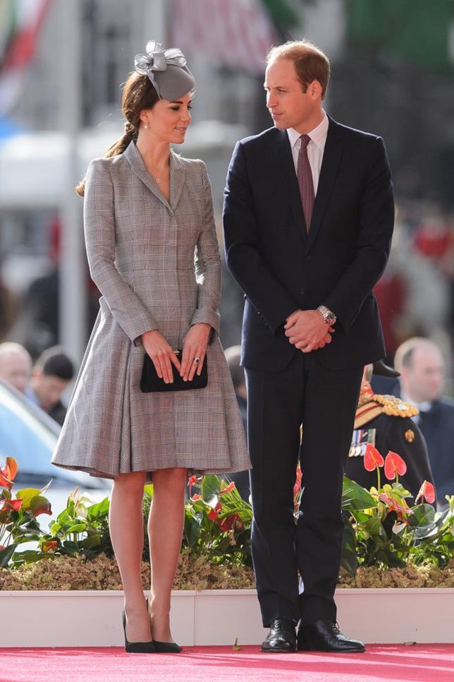 Kate Middleton e il Principe William a un evento ufficiale