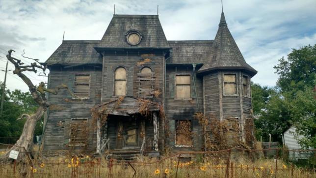 La casa dove appare IT