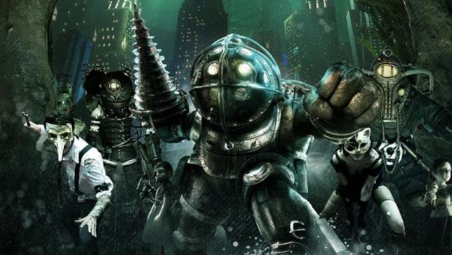 Un'immagine promozionale del primo capitolo di Bioshock
