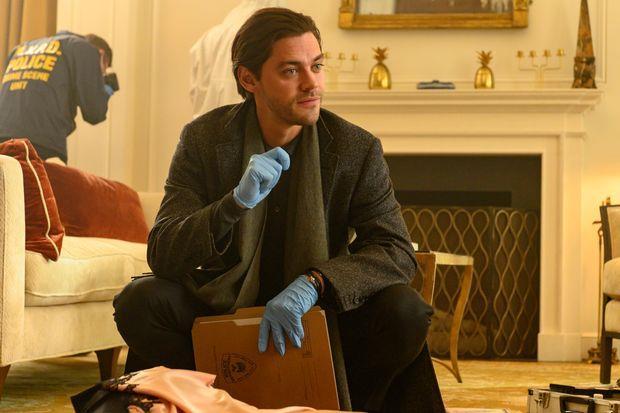 Prodigal Son: un'immagine di Tom Payne nella serie