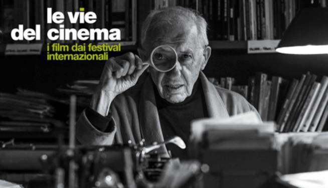 Morando Morandini nel manifesto di Le Vie del Cinema