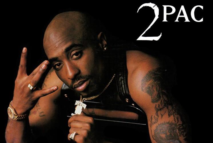 2Pac, il famoso rapper statunitense