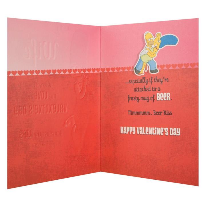Homer e la birra di San Valentino