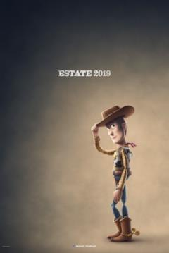 Woody nel character poster italiano di Toy Story 4