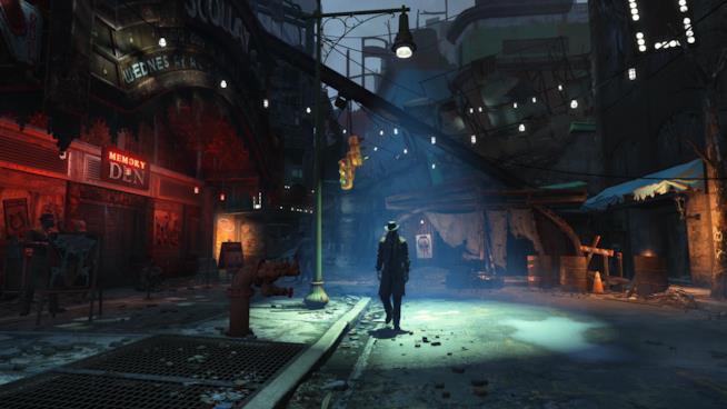 Una sequenza del primo trailer di Fallout 4
