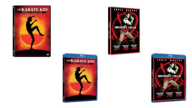 Karate Kid Collection e Beverly Hills Cop Collection - Home Video