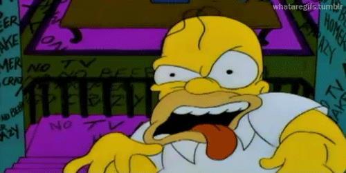 Homer in La Paura fa Novanta V