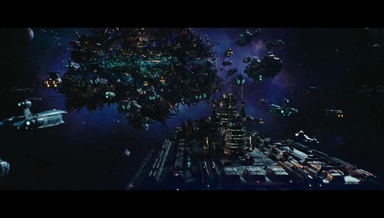 Un paesaggio alieno del film