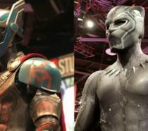 I costumi di Thor e Black Panther dalla D23 Expo