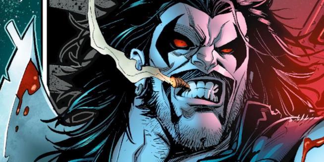 La versione fumettistica di Lobo