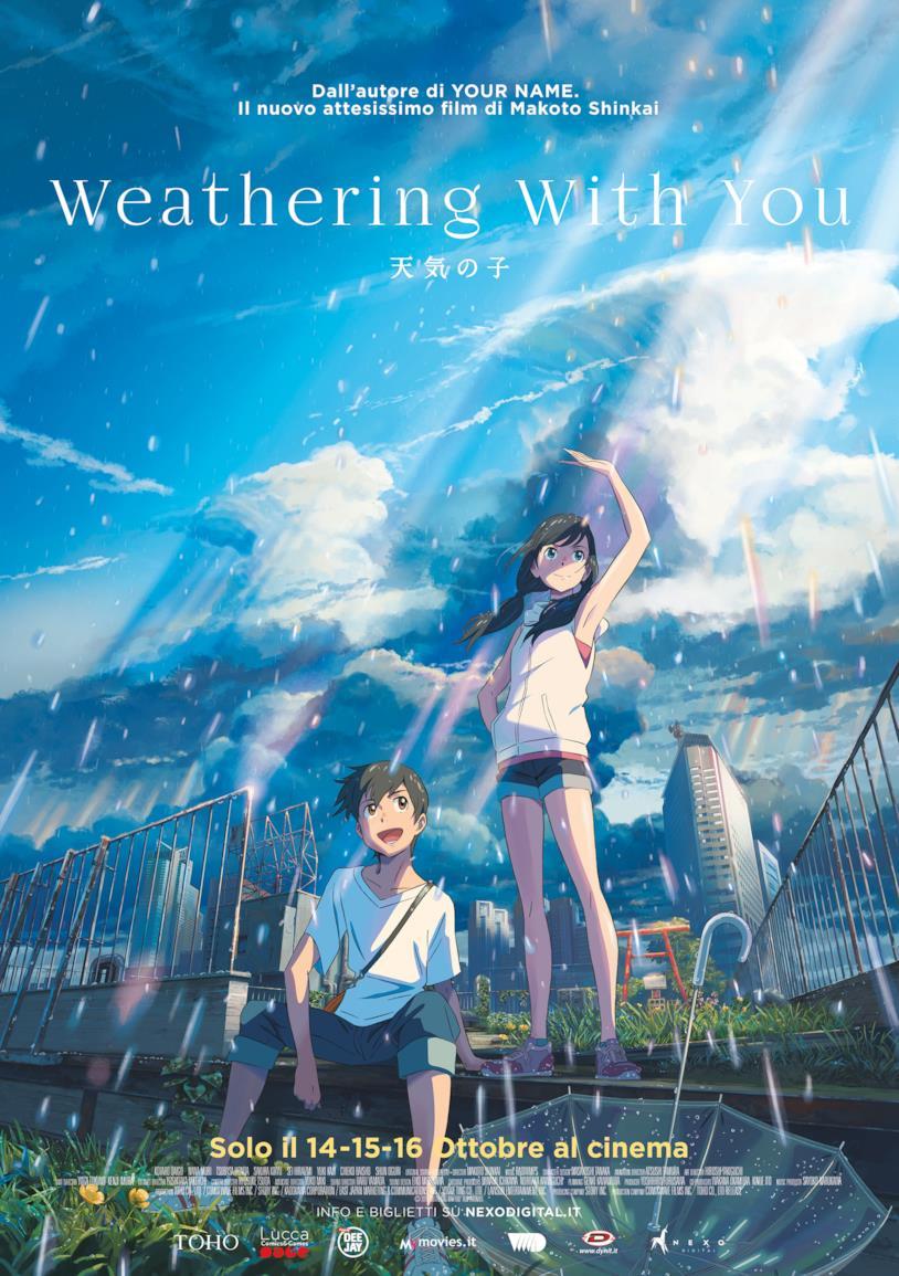La locandina di Weathering With You