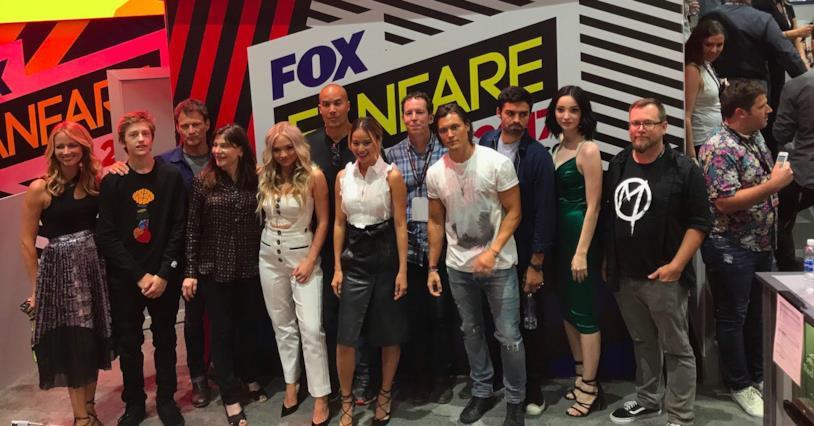 Il cast di The Gifted al Comic-Con di San Diego