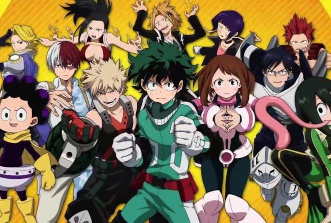 My Hero Academia protagonisti principali