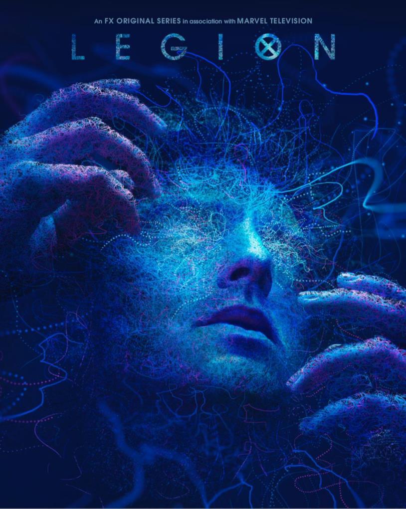 David nel poster della seconda stagione di Legion
