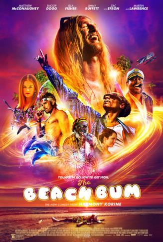 Il poster ufficiale di The Beach Bum