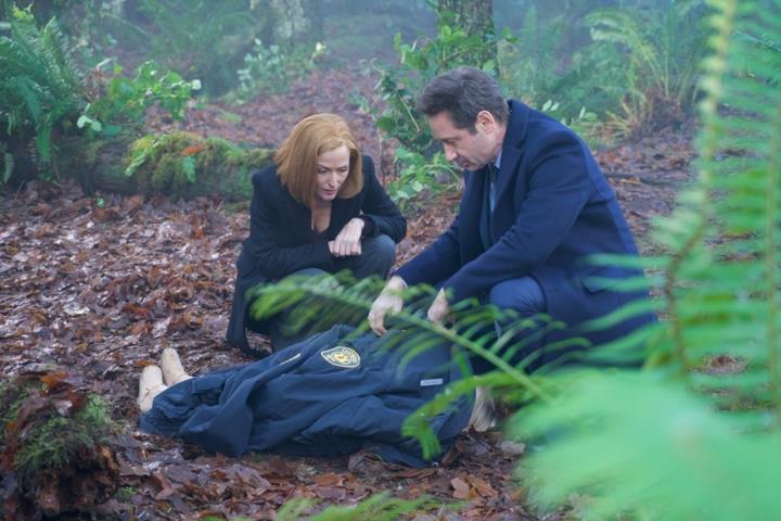 X-Files: un'immagine dall'episodio 11x08