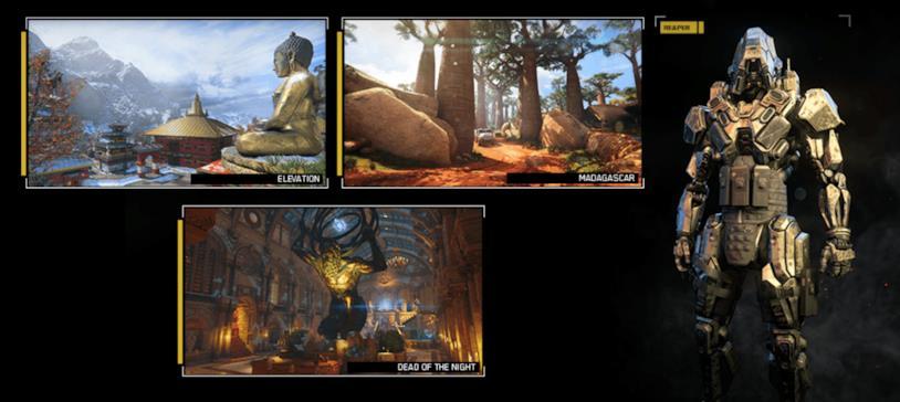Screen che illustra le novità legate al Black Ops Pass per Call of Duty: Black Ops 4