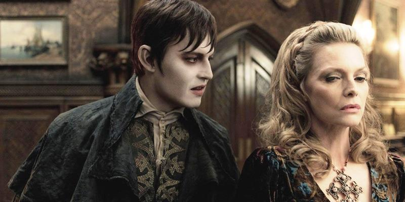 Dark Shadows Tim Burton: Johnny Depp e Michelle Pfeiffer