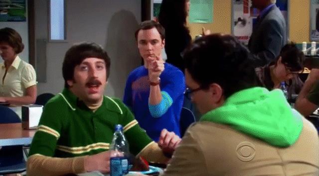 Sheldon e la Forza