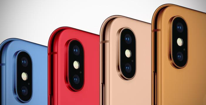 In un concept, come potrebbero essere i nuovi modelli di iPhone che verranno annunciati a breve.