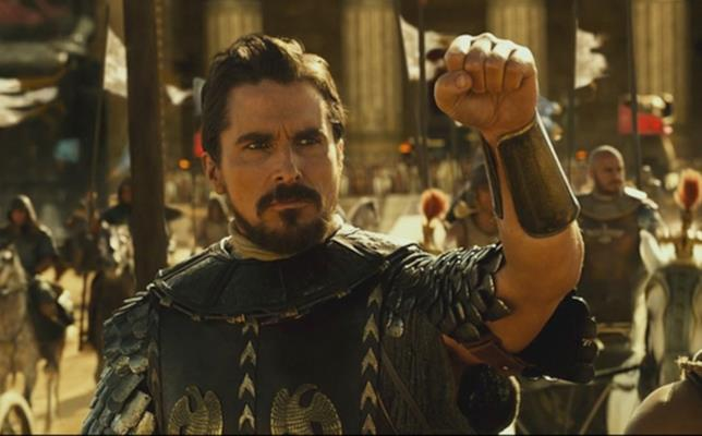 Christian Bale in Exodus – Dei e Re
