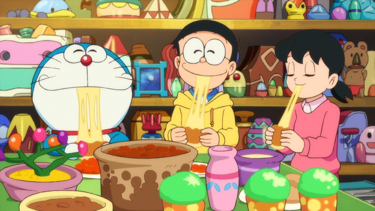 Doraemon, Nobita e Shizuka