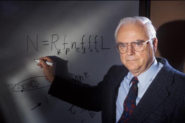 Lo scienziato Frank Drake