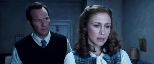 The Conjuring: una scena con Ed e Lorraine Warren